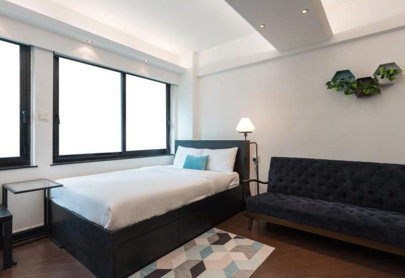 hong kong causeway bay serviced apartment queen for rent #12