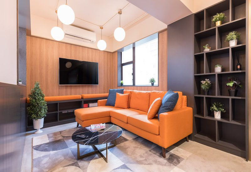 Dash Living Hong Kong Tsim Sha Tsui Coliving Carnarvon Common Space